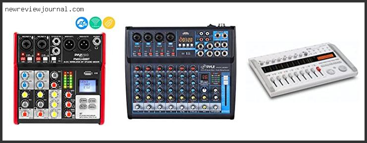 Deals For Best Digital Mixer For Recording Studio With Buying Guide
