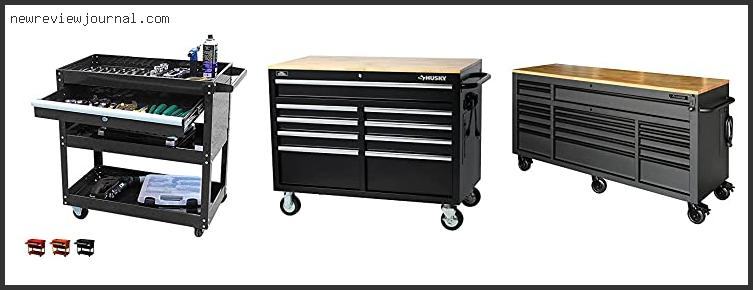 Best Deals For 46 In. 9-drawer Mobile Workbench With Solid Wood Top, Black With Expert Recommendation