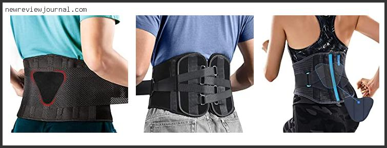 Best Back Support For Sciatica
