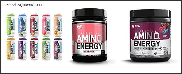 10 Best On Essential Amino Energy Reviews Based On User Rating