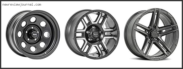 Deals For Best Jeep Gladiator Wheels In [2021]