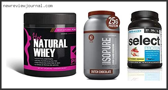 Best Low Carb Low Fat Protein Powder
