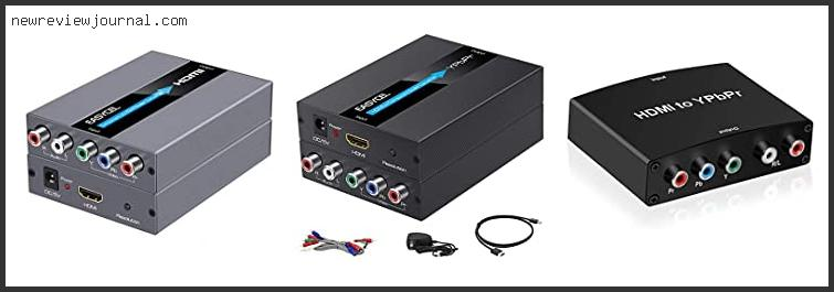Best Hdmi To Component Video Converter