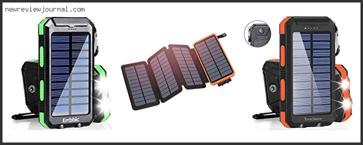Best Solar Charger For Mobile Phone