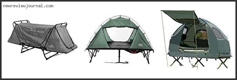 Best Tent For 2 Cots