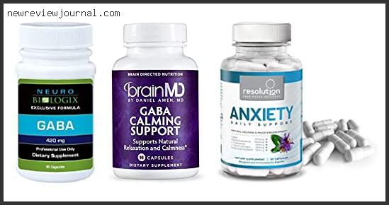 Best Gaba For Anxiety