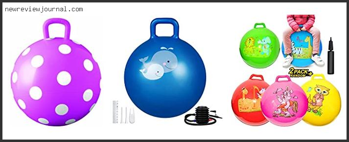 Bouncy Ball With Handle For Toddlers