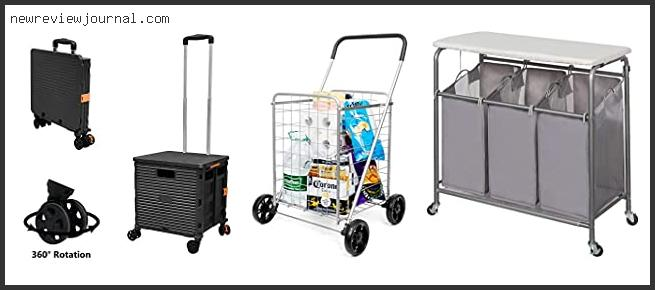 Top #10 Folding Laundry Carts On Wheels With Expert Recommendation