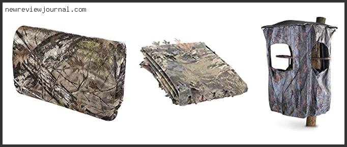 Best Tree Stand Blinds