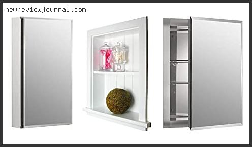 Top 10 14 Inch Wide Recessed Medicine Cabinet Reviews With Products List