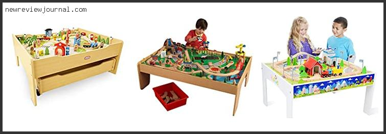 Top #10 Wooden Train Sets With Tables – To Buy Online