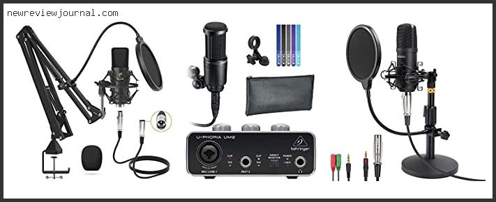 Best Condenser Microphone For Home Studio