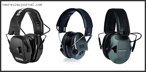 Best Electronic Ear Muffs For Hunting