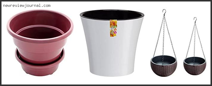 Top #10 Plant Pots With Water Reservoir – To Buy Online