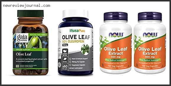 Best Olive Leaf Extract Reviews