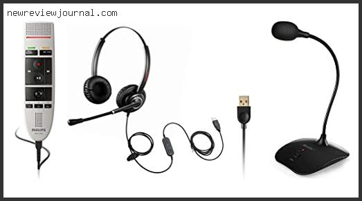 Best Usb Dictation Microphone