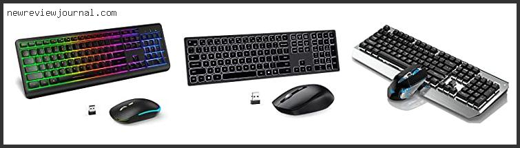 Best Wireless Backlit Keyboard And Mouse