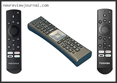 Best Voice Activated Tv Remote Control