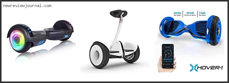 Best Deals For Self Balance Scooter Weight Limit Based On User Rating