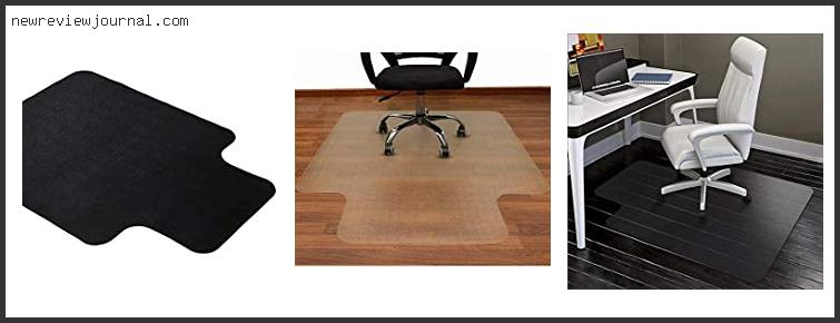 Best Office Chair Pads For Hardwood Floors Based On Scores