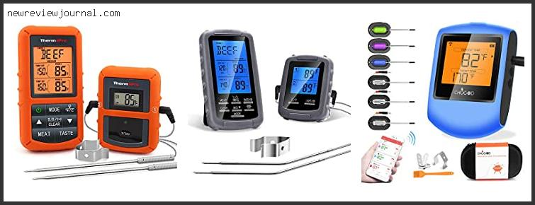Best Remote Cooking Thermometer