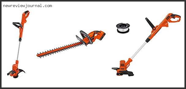 Black And Decker Corded Trimmer