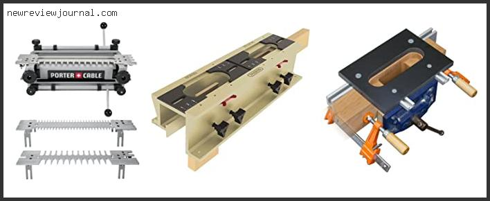 Mortise And Tenon Router Jig