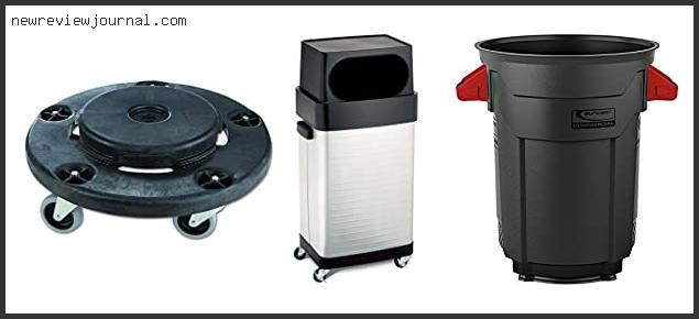 Best 20 Gallon Trash Can With Wheels Reviews With Products List