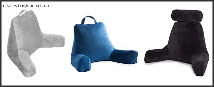 Guide For Sit Up Pillows With Arms – Available On Market