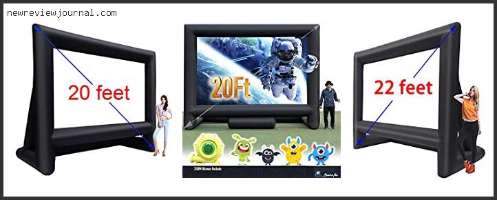 Top #10 Inflatable Tv Screen And Projector With Expert Recommendation