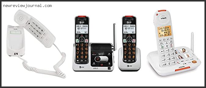 Buying Guide For Best Home Phone For Seniors In [2021]