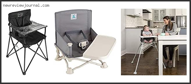 Travel High Chair With Tray