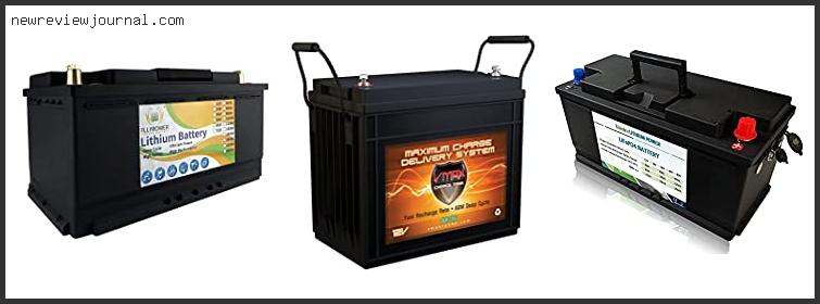 Solar Deep Cycle Battery Charger