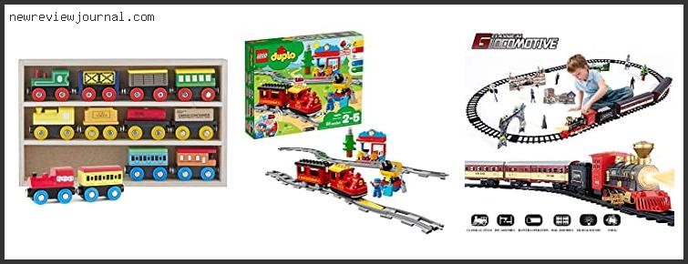 Deals For Best Train Set For Toddler With Buying Guide