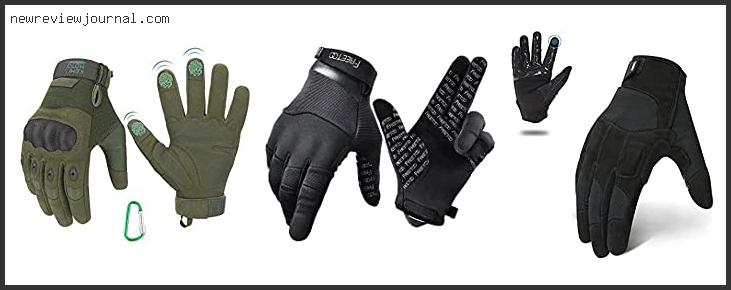 Best Tactical Gloves For Shooting