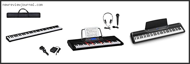 Top 10 Best Portable Electric Piano – To Buy Online