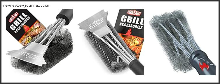 Buying Guide For Best Grill Brush For Stainless Steel Grates With Buying Guide