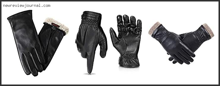 Womens Leather Gloves For Winter