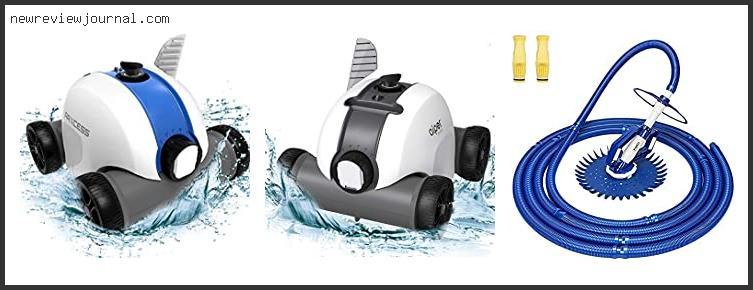 Best Pool Cleaner For Above Ground Pool