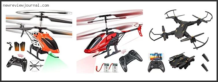 Remote Control Helicopter Long Flight Time