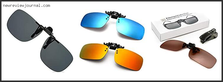Top #10 Flip Up Clip On Sunglasses For Prescription Glasses Reviews With Products List