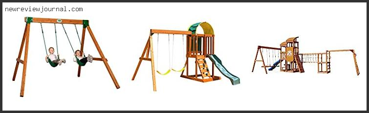 Best Wooden Swing Set With Monkey Bars With Expert Recommendation