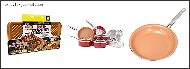 Best #10 – Red Copper Pan Reviews Amazon With Buying Guide