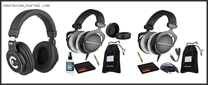 Deals For Best Closed Back Headphones For Mixing With Expert Recommendation