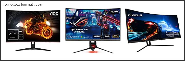 Deals For Best 1440p 144hz Curved Monitor With Buying Guide