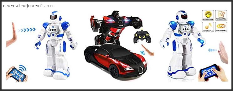 Top Best Remote Controlled Robots For Kids In [2020]