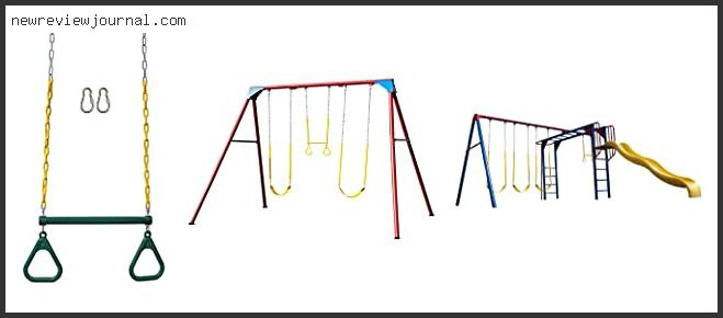 Metal Swing Sets With Monkey Bars