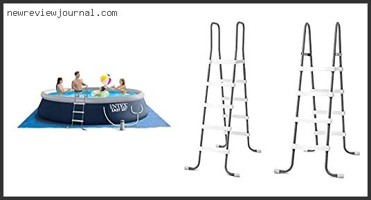 Deals For Swimming Pool Ladders For Above Ground Pools Based On User Rating