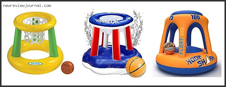 10 Best Inflatable Basketball Hoop For Pool With Expert Recommendation