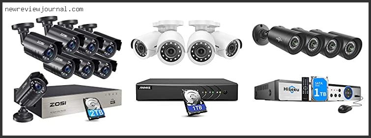 Best Rated Wired Security Camera System